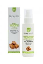 Huile de massage gourmande BIO Caramel - Divinextases