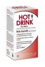 HOT DRINK Homme bois bandé 250 ml : Bois bandé aphrodisiaque pour homme permettant de stimuler le désir sexuel.