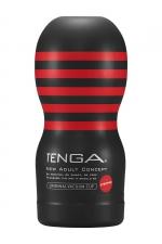 Masturbateur Original Vacuum Cup Strong - Tenga : Amateur de gorge profonde? Le nouveau masturbateur Tenga Original Strong permet de simuler des fellations particulièrement intenses !