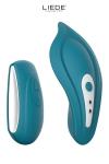 Stimulateur chauffant télécommandé Panty Vibe - océan